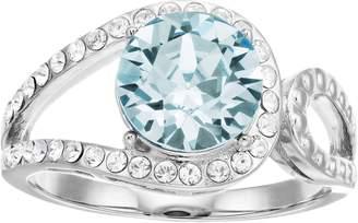 Brilliance+ Brilliance Vintage Round Swarovski Crystal Ring