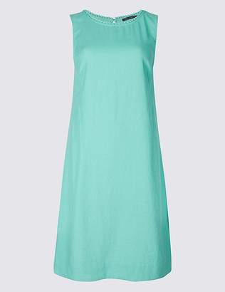 Marks and Spencer Linen Blend Tunic Dress