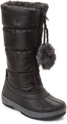 Pajar Canada (Kids Girls) Black Cooper Tall Waterproof Boots