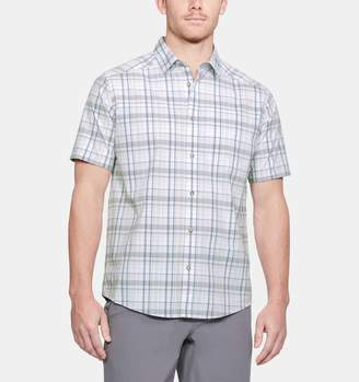 Under Armour Men's UA Legacy Woven Short Sleeve Button Down