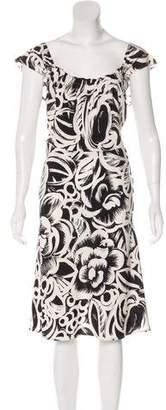 Gucci Silk A-Line Dress w/ Tags