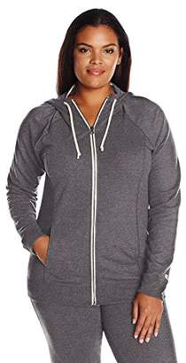 Champion Women's Plus Size French Terry Full-Zip Jacket