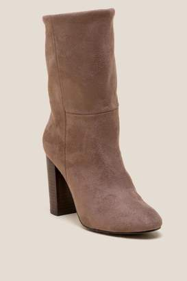 Report Lockett Faux Suede Low Shaft Boot - Taupe