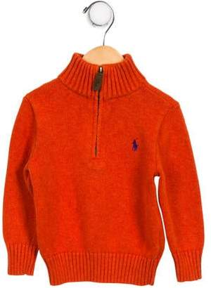 Polo Ralph Lauren Boys' Logo Pullover Sweater