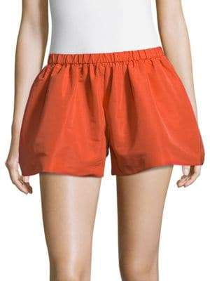 RED Valentino Chic Flared Shorts