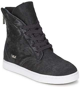 Supra JOPLIN NOCTURNE women's Shoes (High-top Trainers) in Black