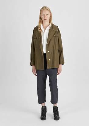 Etoile Isabel Marant Dolman Coated Rain Jacket Bronze