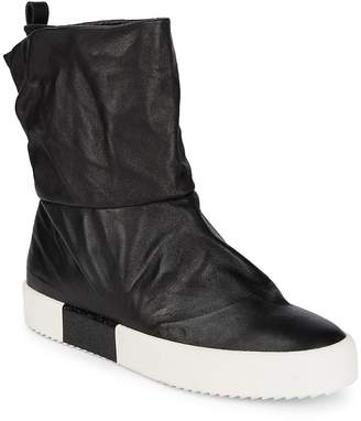 Giuseppe Zanotti Men's Pull-On Leather Ankle Boots