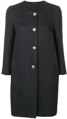 Tagliatore textured coat