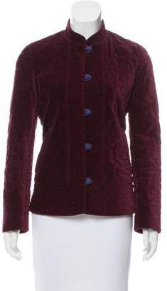 Marc Jacobs Structured Velvet Jacket