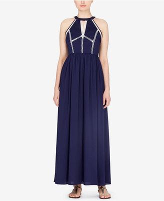 Catherine Malandrino Gish Empire-Waist Maxi Dress $389 thestylecure.com