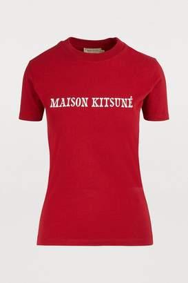 MAISON KITSUNÉ Logo T-shirt