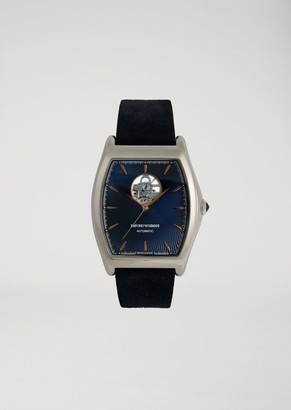 Emporio Armani Automatic Watch With Exposed Movement