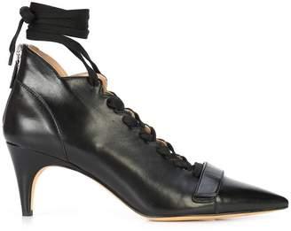 Derek Lam Montparnasse Lace-Up Ankle Bootie
