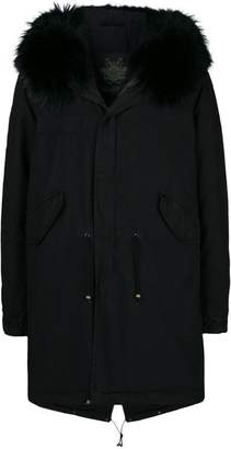 Mr & Mrs Italy hooded parka coat
