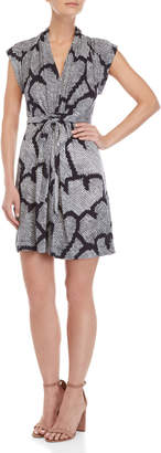 French Connection Remi Printed Jersey Dress