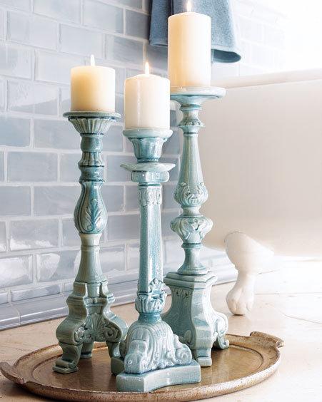Ceramic Candlesticks
