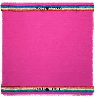 Gucci Kids logo scarf