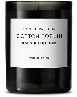 Byredo Cotton Poplin fragranced candle 240g
