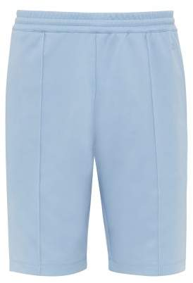 Helmut Lang Pintucked Jersey Shorts - Mens - Blue