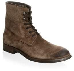 To Boot Classic Suede Lace-Up Boots