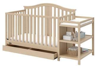 Graco Solano 4-in-1 Convertible Crib and Changer Combo