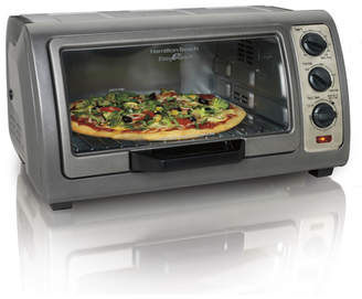 Hamilton Beach 0.6 Cu. Ft. Easy Reach Toaster Oven with Convection