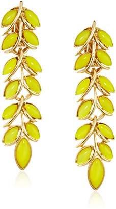 Ben-Amun Jewelry Garden Escape Vine Drop Earrings
