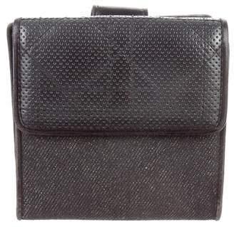Christian Dior Denim Cannage Wallet
