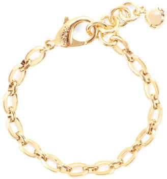Lulu Frost Flat Oval Link Chain Plaza Bracelet Base - High Shine