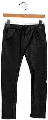 Appaman Fine Tailoring Girls' Vegan Leather Skinny Pants w/ Tags
