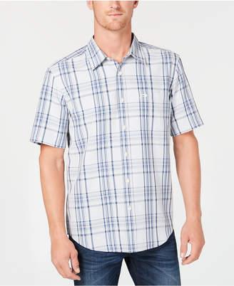 Quiksilver Men Snap Jam Plaid Shirt