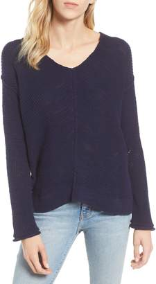 Caslon Marl V-Neck Sweater