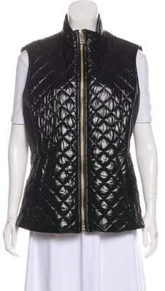 Burberry Quilted Zip-Up Vest