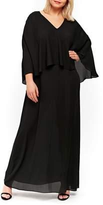 Evans Overlay Maxi Dress