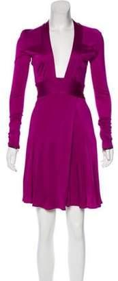 Issa Long Sleeve Mini Dress Long Sleeve Mini Dress