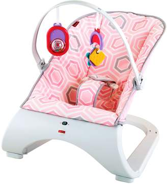Fisher-Price Comfort Curve Bouncer, Pink by