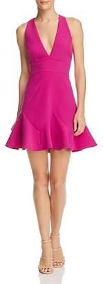 BCBGMAXAZRIA Cutout Mini Dress