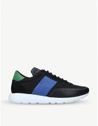 Paul Smith Rush leather and woven trainers