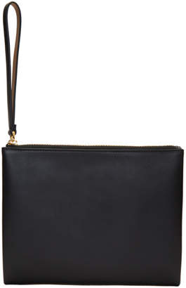 Marni Black and Beige Zip Pouch