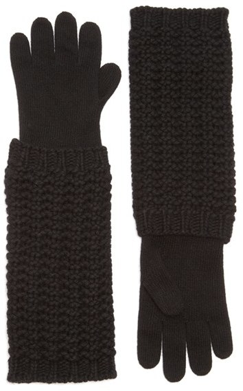 Moncler Women's Moncler Long Knit Gloves