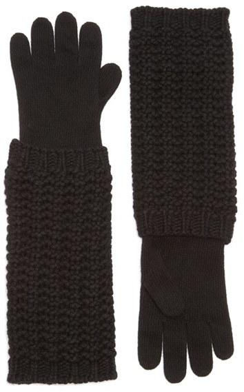 MonclerWomen's Moncler Long Knit Gloves