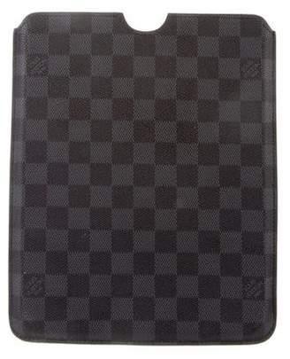 Louis Vuitton Damier Graphite iPad Case