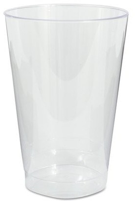 clear WNA Plastic Tumblers, Cold Drink, Clear, 12 oz., 500/Case
