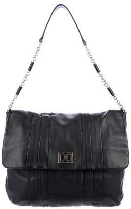 Anya Hindmarch Pleated Leather Flap Bag