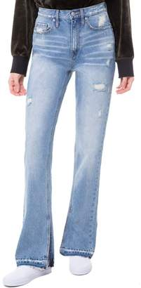 Juicy Couture Distressed Denim Bootcut Jean