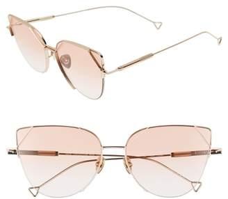 Cat Eye HAZE The Schema 59mm Sunglasses