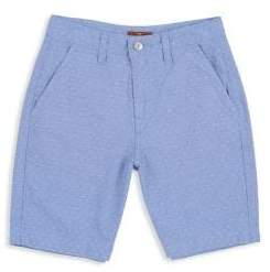 7 For All Mankind Little Boy's& Boy's Textured Chambray Shorts