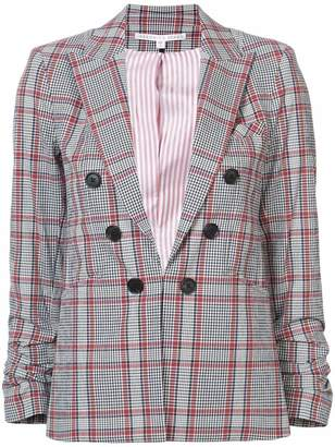 Veronica Beard plaid blazer