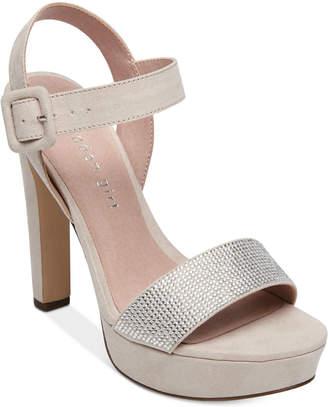 Madden-Girl Rollo Embellished Platform Dress Sandals